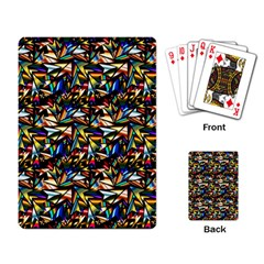 Abstract Pattern Design Artwork Playing Card