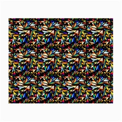Abstract Pattern Design Artwork Small Glasses Cloth (2 Side)