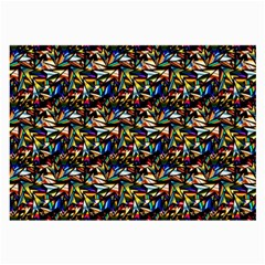 Abstract Pattern Design Artwork Large Glasses Cloth (2 Side)
