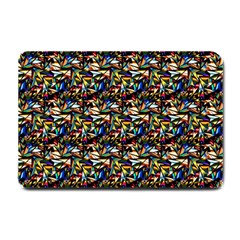 Abstract Pattern Design Artwork Small Doormat