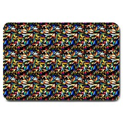 Abstract Pattern Design Artwork Large Doormat