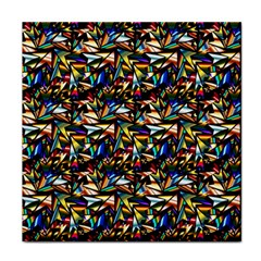 Abstract Pattern Design Artwork Face Towel