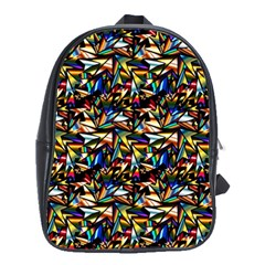 Abstract Pattern Design Artwork School Bags(large)