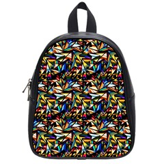 Abstract Pattern Design Artwork School Bags (small)