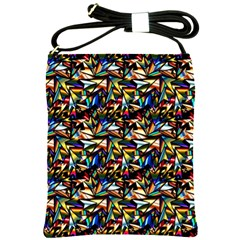 Abstract Pattern Design Artwork Shoulder Sling Bags