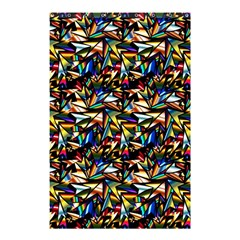 Abstract Pattern Design Artwork Shower Curtain 48  X 72  (small)