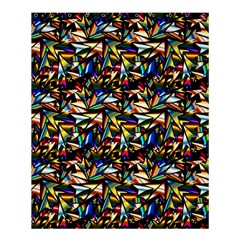 Abstract Pattern Design Artwork Shower Curtain 60  X 72  (medium)