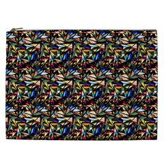 Abstract Pattern Design Artwork Cosmetic Bag (xxl)
