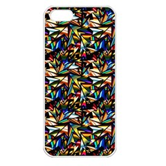 Abstract Pattern Design Artwork Apple Iphone 5 Seamless Case (white)