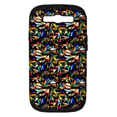 Abstract Pattern Design Artwork Samsung Galaxy S Iii Hardshell Case (pc+silicone)
