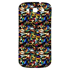 Abstract Pattern Design Artwork Samsung Galaxy S3 S Iii Classic Hardshell Back Case