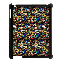 Abstract Pattern Design Artwork Apple Ipad 3/4 Case (black)