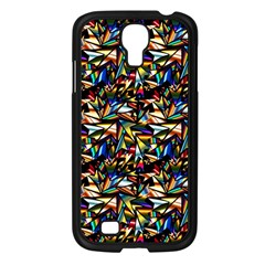 Abstract Pattern Design Artwork Samsung Galaxy S4 I9500/ I9505 Case (black)