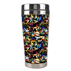 Abstract Pattern Design Artwork Stainless Steel Travel Tumblers