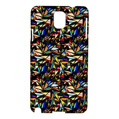 Abstract Pattern Design Artwork Samsung Galaxy Note 3 N9005 Hardshell Case