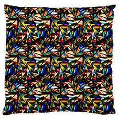 Abstract Pattern Design Artwork Standard Flano Cushion Case (one Side)