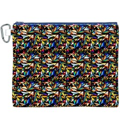 Abstract Pattern Design Artwork Canvas Cosmetic Bag (xxxl)