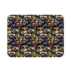 Abstract Pattern Design Artwork Double Sided Flano Blanket (mini)