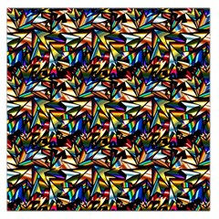 Abstract Pattern Design Artwork Large Satin Scarf (square)