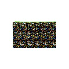 Abstract Pattern Design Artwork Cosmetic Bag (XS)