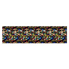 Abstract Pattern Design Artwork Satin Scarf (oblong)