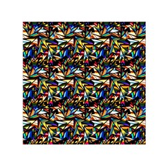 Abstract Pattern Design Artwork Small Satin Scarf (square)