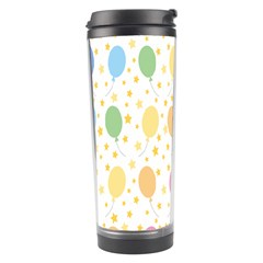 Balloon Star Color Orange Pink Red Yelllow Blue Travel Tumbler