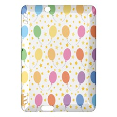 Balloon Star Color Orange Pink Red Yelllow Blue Kindle Fire HDX Hardshell Case