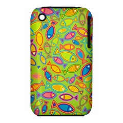 Animals Fish Green Pink Blue Green Yellow Water River Sea Iphone 3s/3gs