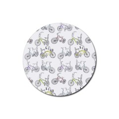 Bicycle Bike Sport Rubber Coaster (round)