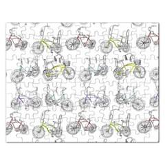 Bicycle Bike Sport Rectangular Jigsaw Puzzl
