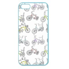 Bicycle Bike Sport Apple Seamless Iphone 5 Case (color)