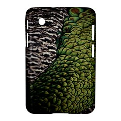 Bird Feathers Green Brown Samsung Galaxy Tab 2 (7 ) P3100 Hardshell Case