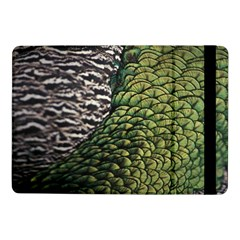 Bird Feathers Green Brown Samsung Galaxy Tab Pro 10.1  Flip Case