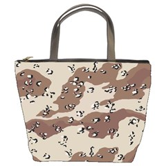 Camouflage Army Disguise Grey Brown Bucket Bags