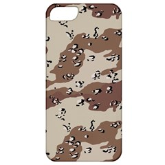 Camouflage Army Disguise Grey Brown Apple iPhone 5 Classic Hardshell Case