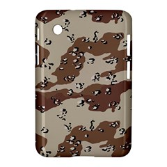 Camouflage Army Disguise Grey Brown Samsung Galaxy Tab 2 (7 ) P3100 Hardshell Case