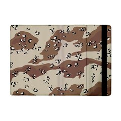 Camouflage Army Disguise Grey Brown iPad Mini 2 Flip Cases