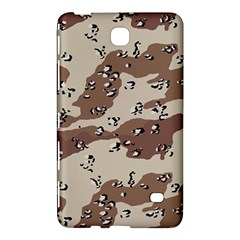 Camouflage Army Disguise Grey Brown Samsung Galaxy Tab 4 (8 ) Hardshell Case