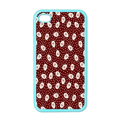 Animals Rabbit Kids Red Circle Apple Iphone 4 Case (color)