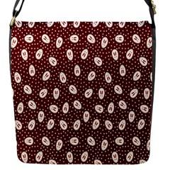 Animals Rabbit Kids Red Circle Flap Messenger Bag (s)