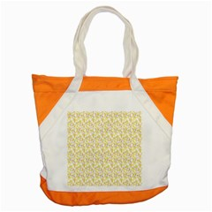 Branch Spring Texture Leaf Fruit Yellow Accent Tote Bag