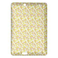 Branch Spring Texture Leaf Fruit Yellow Amazon Kindle Fire HD (2013) Hardshell Case