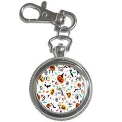 Candy Pumpkins Bat Helloween Star Hat Key Chain Watches
