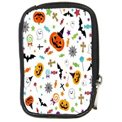 Candy Pumpkins Bat Helloween Star Hat Compact Camera Cases