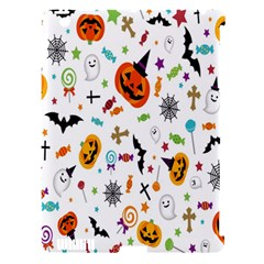 Candy Pumpkins Bat Helloween Star Hat Apple Ipad 3/4 Hardshell Case (compatible With Smart Cover)