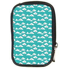 Cloud Blue Sky Sea Beach Bird Compact Camera Cases