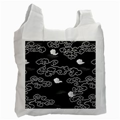 Cloud Black Night Recycle Bag (two Side)