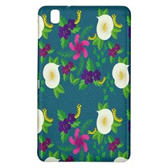 Caterpillar Flower Floral Leaf Rose White Purple Green Yellow Animals Samsung Galaxy Tab Pro 8.4 Hardshell Case