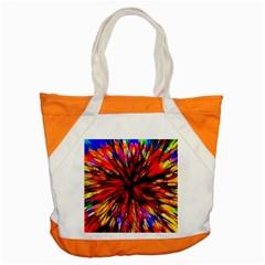 Color Batik Explosion Colorful Accent Tote Bag